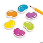 Jelly Bean Erasers