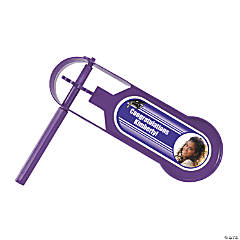 Purple Graduation Custom Photo Giant Noisemakers