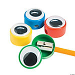 Giant Wiggle Eye Pencil Sharpeners