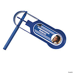 Blue Graduation Custom Photo Giant Noisemakers