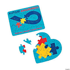 Autism Awareness Mini Puzzles