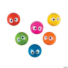Googly Eyes Bouncing Balls