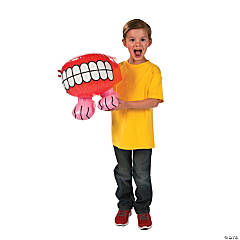 Inflatable Chomping Teeth