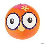 Vinyl Inflatable Owl Beach Balls