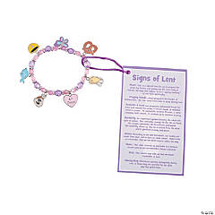 Signs of Lent Bracelet Craft Kit
