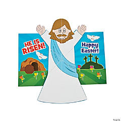 He Is Risen Pop-Up Sticker Scene Cards