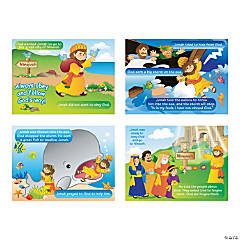 Jonah & the Whale Sticker Scenes