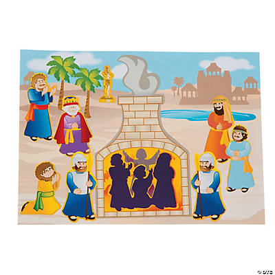 Shadrach, Meshach & Abednego Sticker Scenes