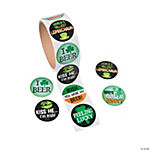 Adult St. Patrick's Day Stickers