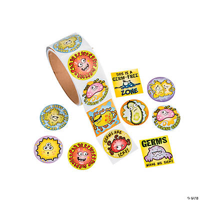 Germs Stickers