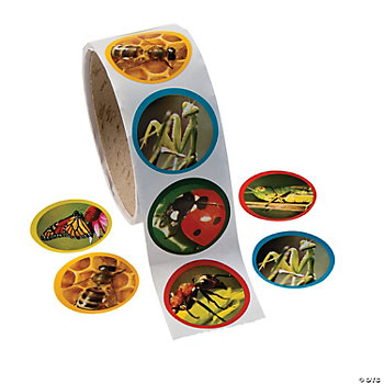 Bug Photo Roll Of Stickers Oriental Trading