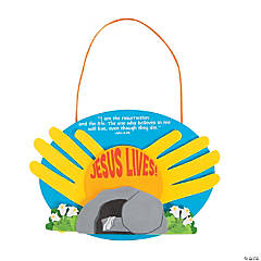 """He Lives"" Handprint Craft Kit"
