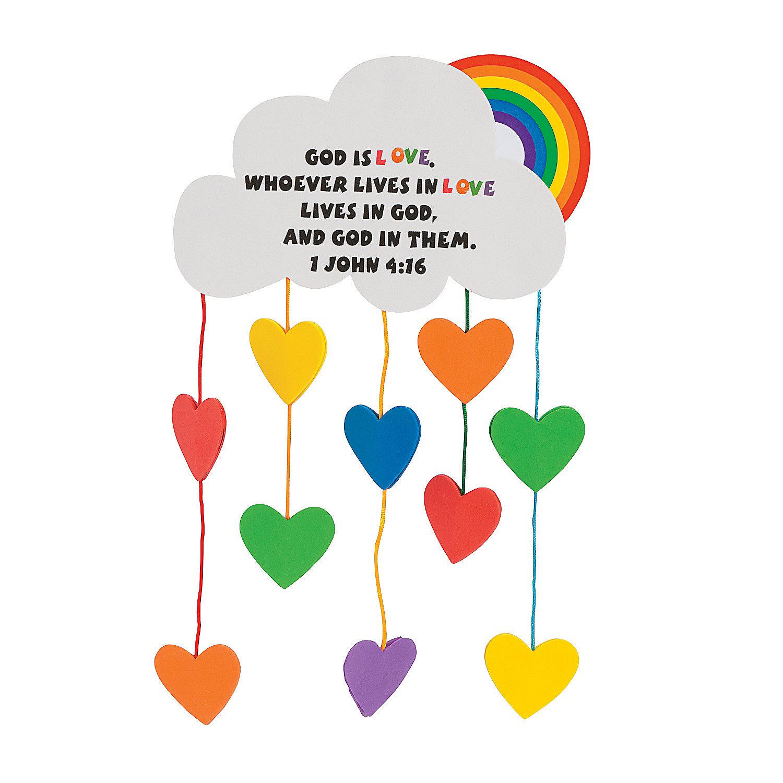 Loving God By Loving Others Kid Crafts