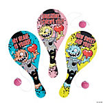 Valentine Zombie Paddleball Games