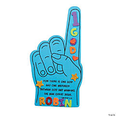 One God Foam Finger Craft Kit
