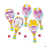 """Jesus Is the Reason"" Paddleball Games"