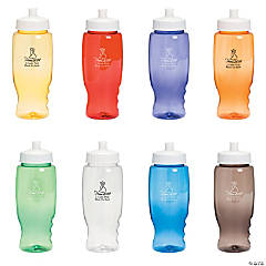 Personalized 2014 Prom Night Water Bottles