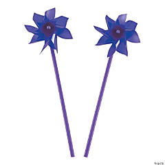 Purple Pinwheels