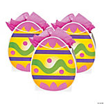 Easter Egg Cutout Gift Bags