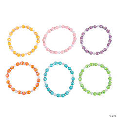 Iridescent Beaded Bracelet Craft Kit