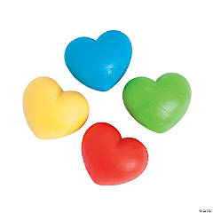 Heart-Shaped Bouncing Balls