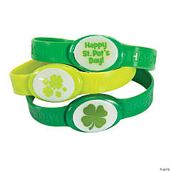 St. Patrick's Day Flashing Bracelets