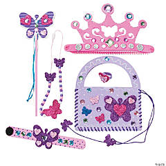 Butterfly Princess Accessories Craft Kit