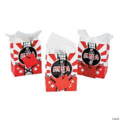 Ninja Warrior Small Gift Bags