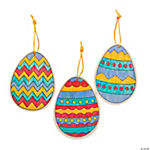 CYO Wood Egg Ornaments