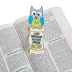 "CYO ""Our Wisdom Comes From God"" Bookmark"