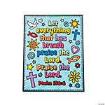Color Your Own Psalm 150:6 Posters