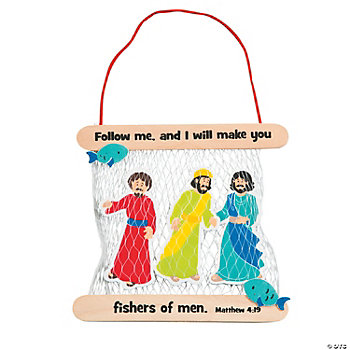 For Sale Fishers >> Fishers of Men Craft Kit - Oriental Trading