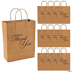 Thank You Kraft Gift Bags