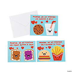We Go Together Valentine Cards