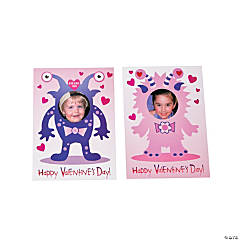 Valentine Monster Picture Frame Valentine Cards