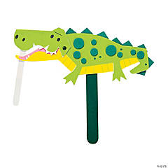 Alligator Puppet Craft Kit