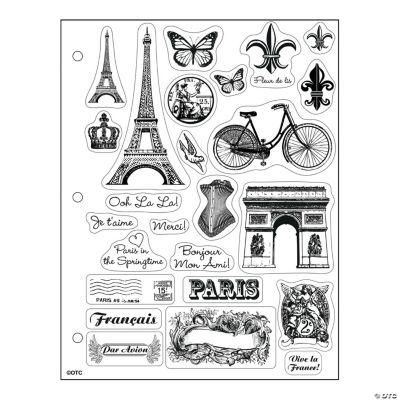 Paris Clear Stamps