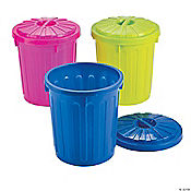 Trash Cans with Covers