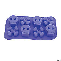 Skull & Crossbones Ice Cube Tray