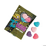 Zombie Valentine Candy Gummy Fun Packs