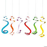 Bright Hanging Swirls