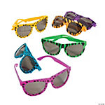 Bright Animal Print Sunglasses