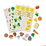 Food Group Foam Stickers