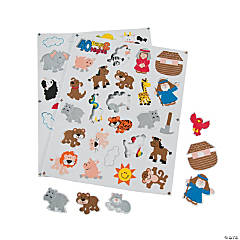 Noah's Ark Foam Self-Adhesive Shapes