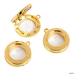 25mm Goldtone Lockets