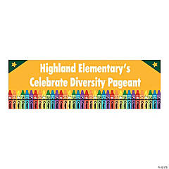 Personalized Small Black History Month Banner