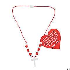 My Heart Belongs To Jesus Necklace Craft Kit