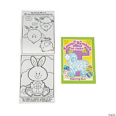 Easter Symbols of Faith Coloring Books