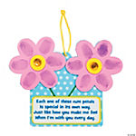 Thumbprint Flower Sign with Poem Craft Kit