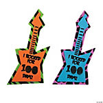 100th Day of School Rock Star Thumbprint Magnet Craft Kit